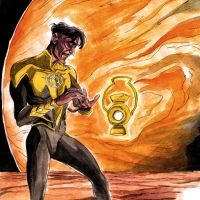 Sinestro by theintrovert
