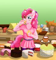 Pinkie Cakes by AnimalMother-getsome