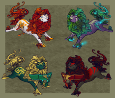 Sprite Fudog adopts by ElysianImagery