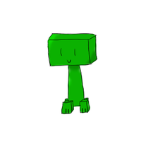 Cael the Creeper by poyoa