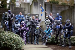 Halo Soldiers by lumonic
