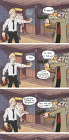 Constantine in Gravity Falls part 2 by Tenshi-Inverse