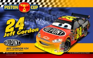 Cars | Jeff Gordon by danyboz