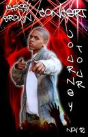 chris Brown concert ad by Ands-Andz