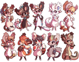 10 of them oh boy by exitoricanBean