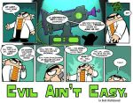 """""""Evil Ain't Easy"""" page 1 by SethWolfshorndl"""