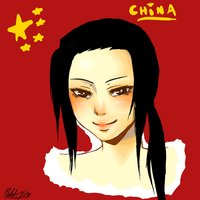 China Portrait PRACTICE by Narutofan098