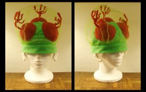 Custom - Metroid Hat by tomo-chi