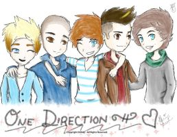 One Direction! :D by InvaderZELENA