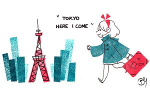 Tokyo here I come by Cheeky-Bee