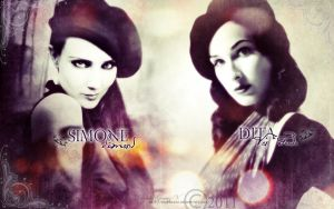 Simone and Dita Vintage by DivineWish