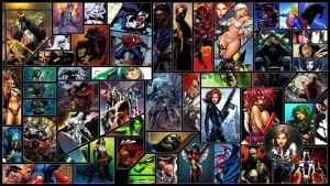 Comics Wallpaper by Helixwolf