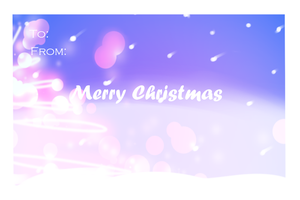 :. Printable Christmas Greeting Card ! .: by PastelLights