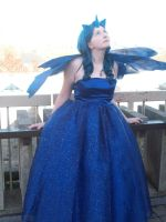 Princess Luna Cosplay: Highlighting the Dress by Aurorous