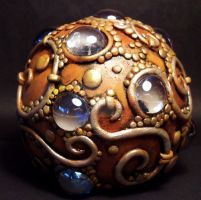 Dragon egg paper weight by MandarinMoon