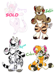 Reduced Price PM Adopts #1 (2/4 Open) by KarmaAdoptables
