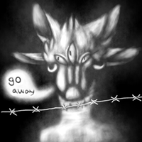 Go away by grotesqueGuts