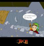 A Jak 2 game hole by theanimejump