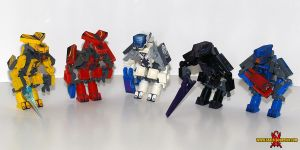 LEGO Halo Reach Elites by Saber-Scorpion