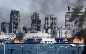 Earthquake: San Diego by maddartist83