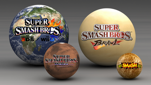 Super Smash Bros. Evolution Wallpaper 6 by TheWolfBunny