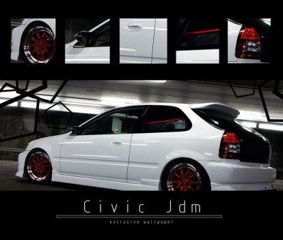 . . Civic Jdm . . by j4y-0n3