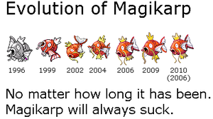 Evolution of Magikarp by Gothboy86