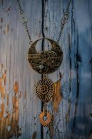 Steampunk Necklace - [Collier Steampunk] by MemOclock