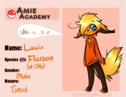 Amie-Academy: Lucis (edited) by Ask-Blu-The-Unknown