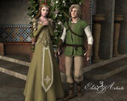 Elven Couple by zilla73