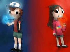 Dipper and Mabel - Fated by the Cosmos by Dream-Leaf-Alex