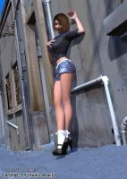 Casual-Ty 1 - Keiko Aoki by MTLs-Imaging
