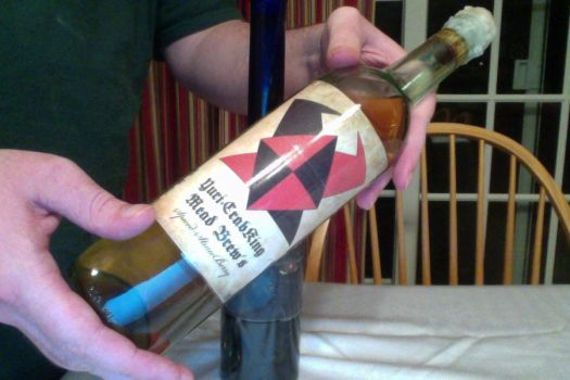 Yuricrabking Mead  Spiced Straw Berry by crabking