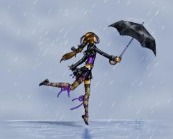 Arniel and Umbrelly by Moppy
