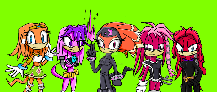 Fangirl Echidna Group by charliey41725