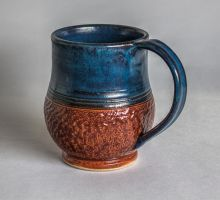 Denim Mug by KaiCeramics