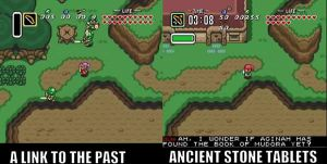 A Link to the Past's Long Lost Sequel by malerfique