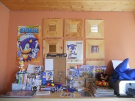 My Sonic the Hedgehog Collection :) by ShadicSatAm