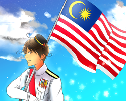 Happy 57th Independence Day! Selamat Hari Merdeka by Akiraka-chan