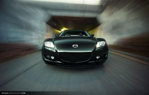 Mazda RX-8 - tunnel - by dejz0r