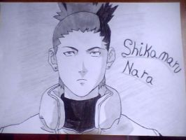 Shikamaru Nara by bloodplusrocks