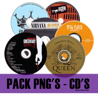PACK PNG - CD'S by TransilvaniaEditions