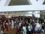 Day 1 dealers room line by KingAkatsuki13