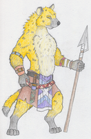 Gnoll Warrior by Salvestro