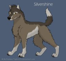 TNTC Character- Silvershine by Tephra76