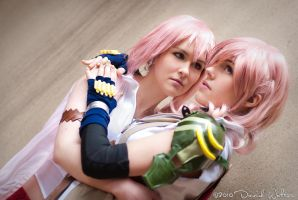 FFXIII - Lightning and Serah by TheSeeker417