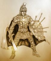 The Armor of God by PaperCutIllustration