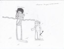+ Enderbro And Steve Fanart + by TheJokersCards