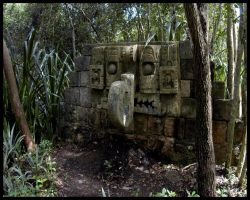 Mayan Ruin 1 of 7 by Miloe