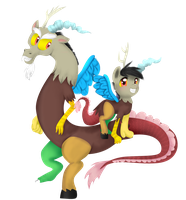 PC: Discord and Bella Discordia by Lolly-pop-girl732